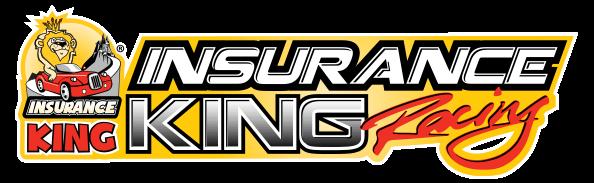 insurance king racing logo